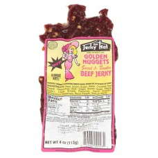Jerky Hut Spicy and Sweet Tender Golden Nuggets