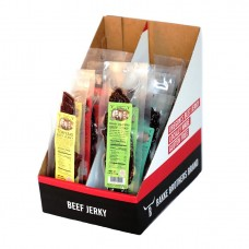Bakke Brothers 12pk Trial Size Assorted Beef Jerky